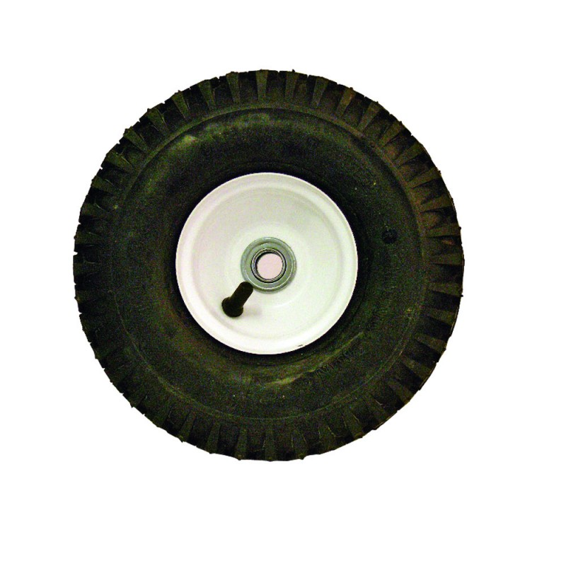 10'' White Steel Rim Wheel and Tire Assembly