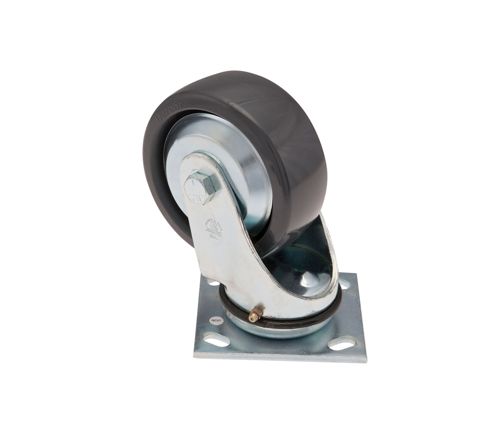 Tennant 1049046 OEM Solid Swivel Caster 5.0D 2.0W