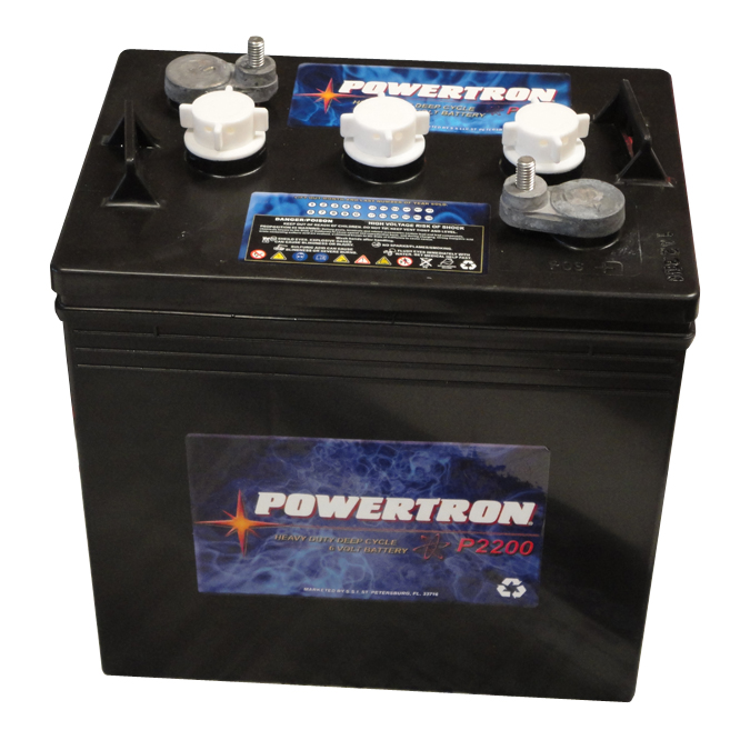 Powertron 6 Volt Battery