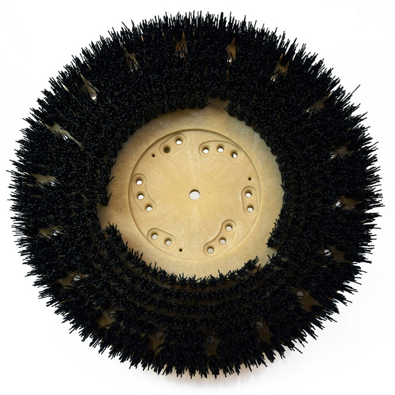 Mal-Grit Grit Rotary Stripping Brush - 80 Grit, 10'' -21''