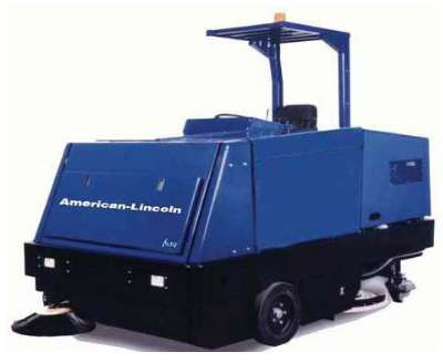 American Lincoln 7765 Sweeper Scrubber Rider