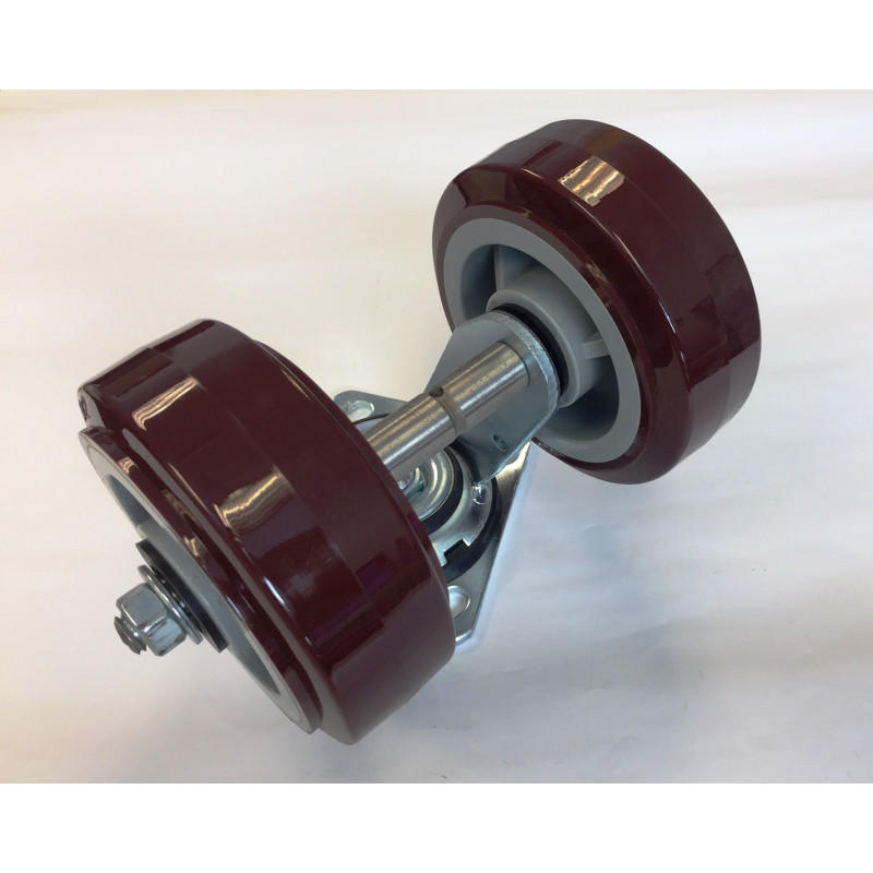 Caster Assembly Dual Wheel Encore 24/26