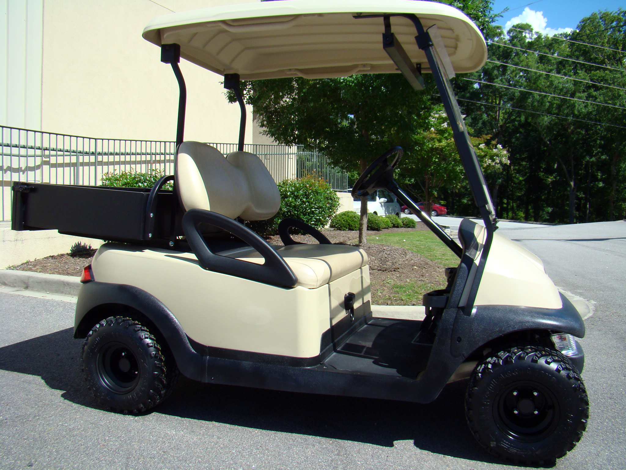 Utility Golf Cart Club Car Precedent With Bed