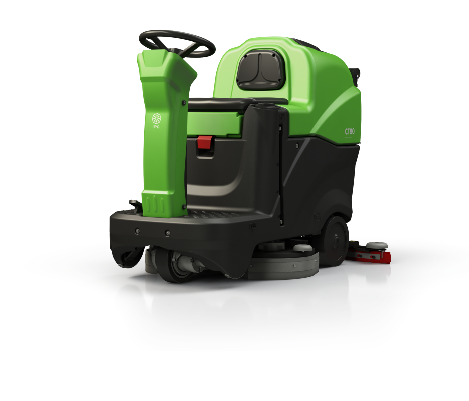 IPC Eagle CT80BT60 24 Inch Clean Time Rider Floor Scrubber