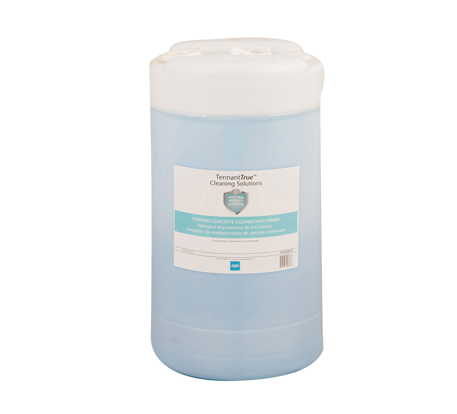 Tennant Light Blue Concrete Cleaner Maintainer 15 Gallon 9006838