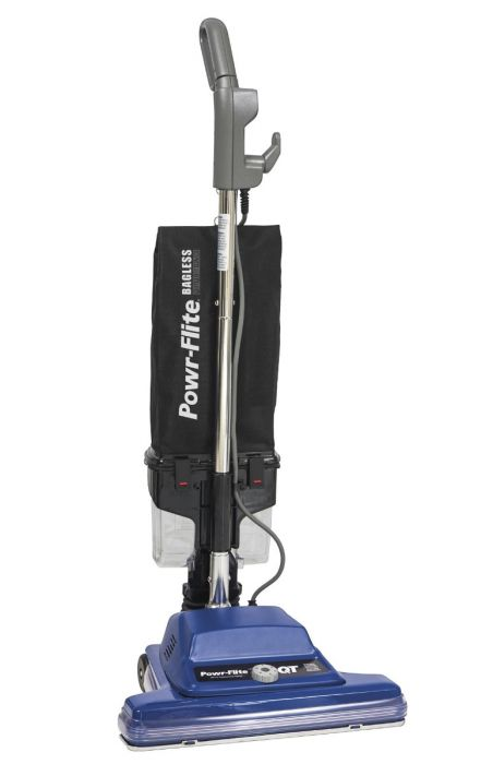 Powr-Flite 16 Inch Commercial Upright Vacuum - Bagless