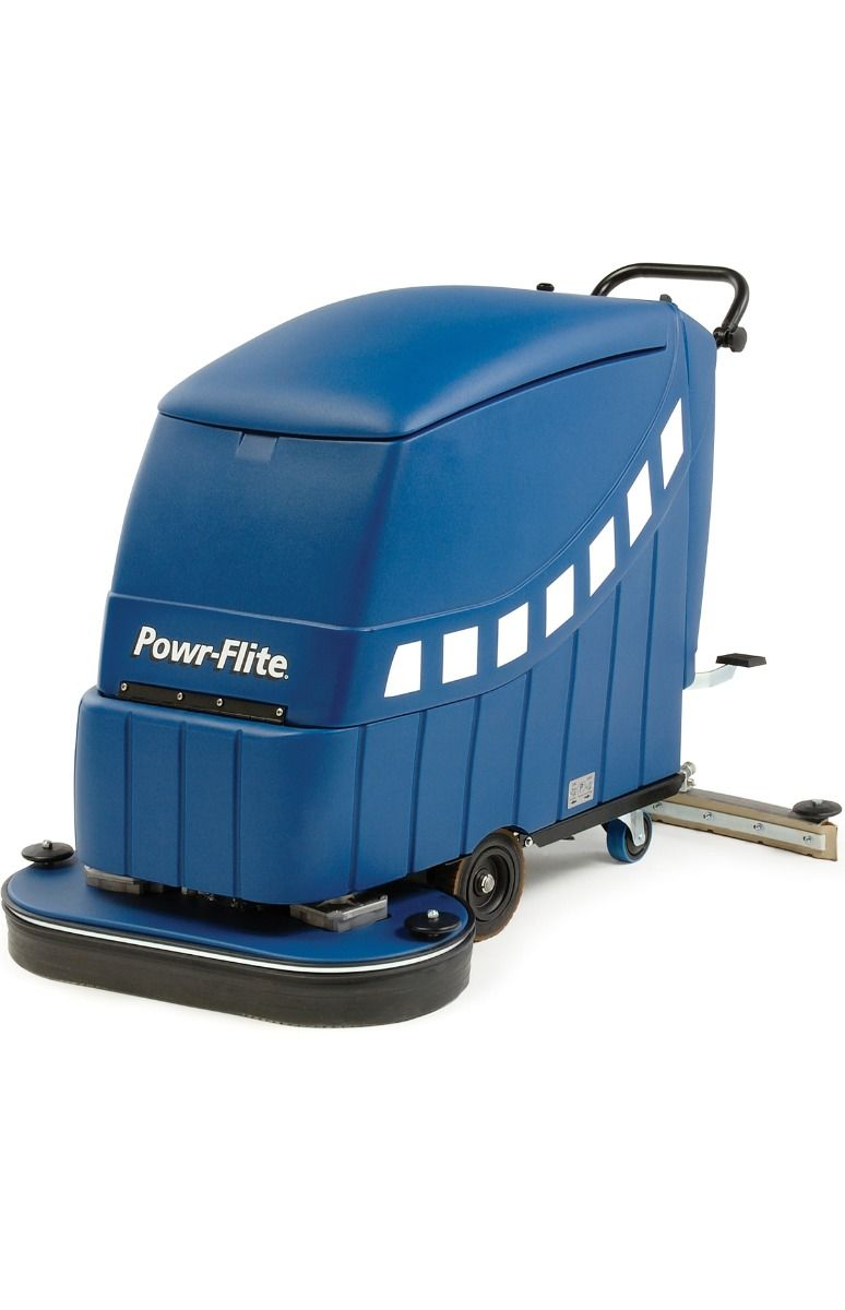 Powr-Flite 32 Inch Traction Drive Floor Scrubber