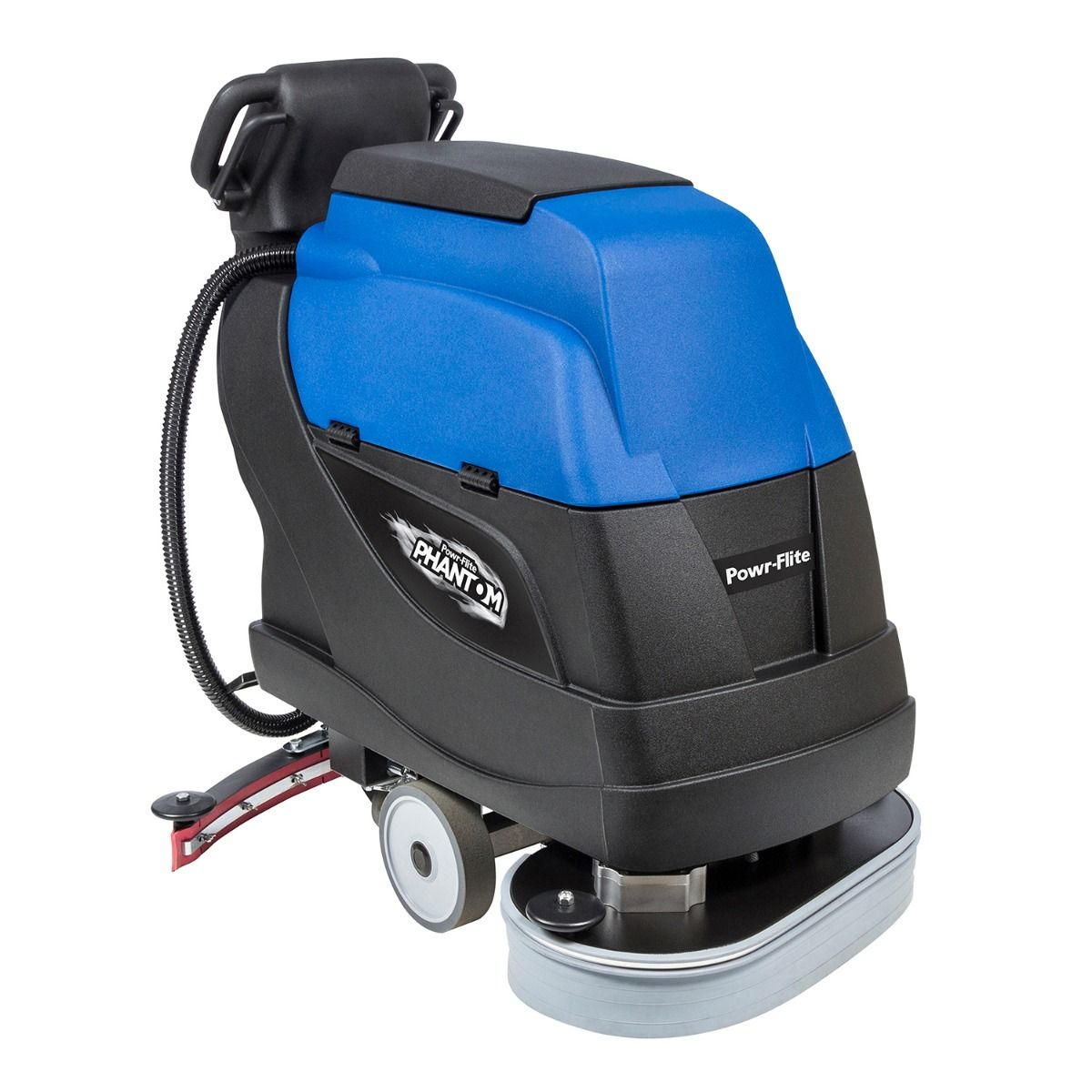 Powr-Flite 24 Inch Traction Drive Floor Scrubber