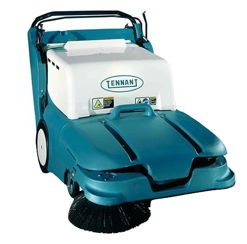 Tennant 3640 Mid Size Walk Behind Battery Floor Sweeper Shop Online