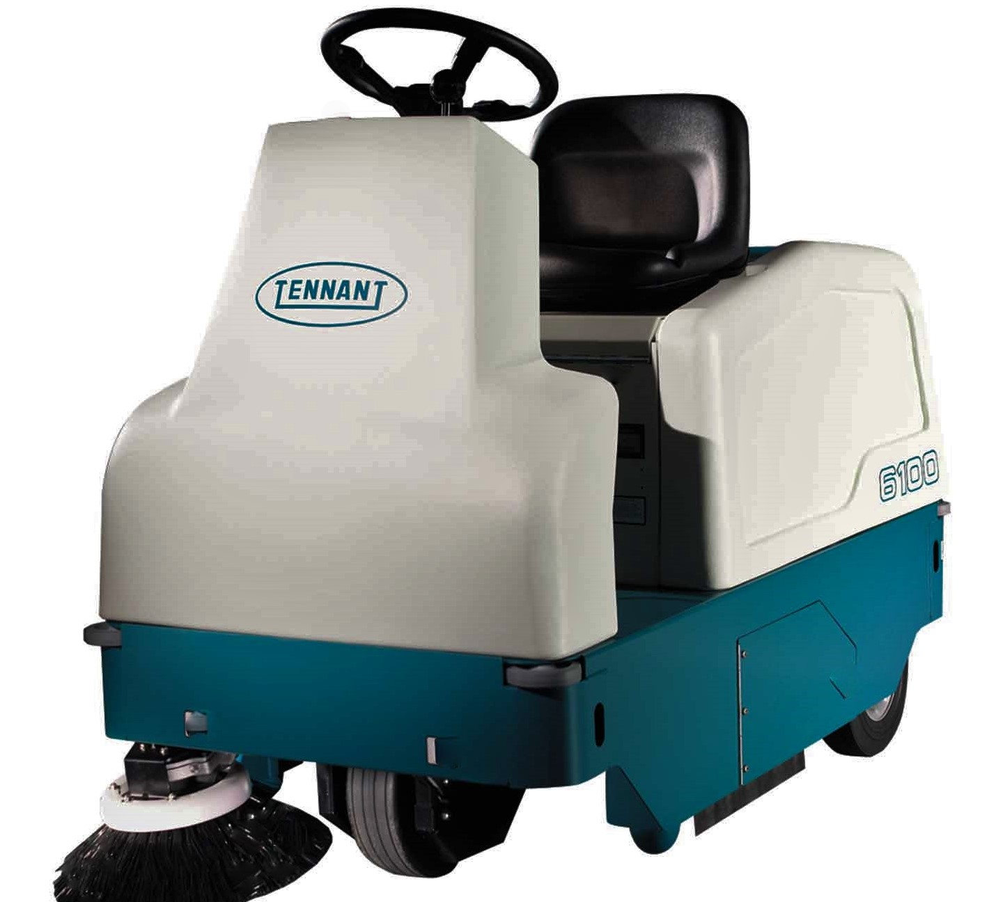 Tennant 6100 Rider Compact Floor Sweeper
