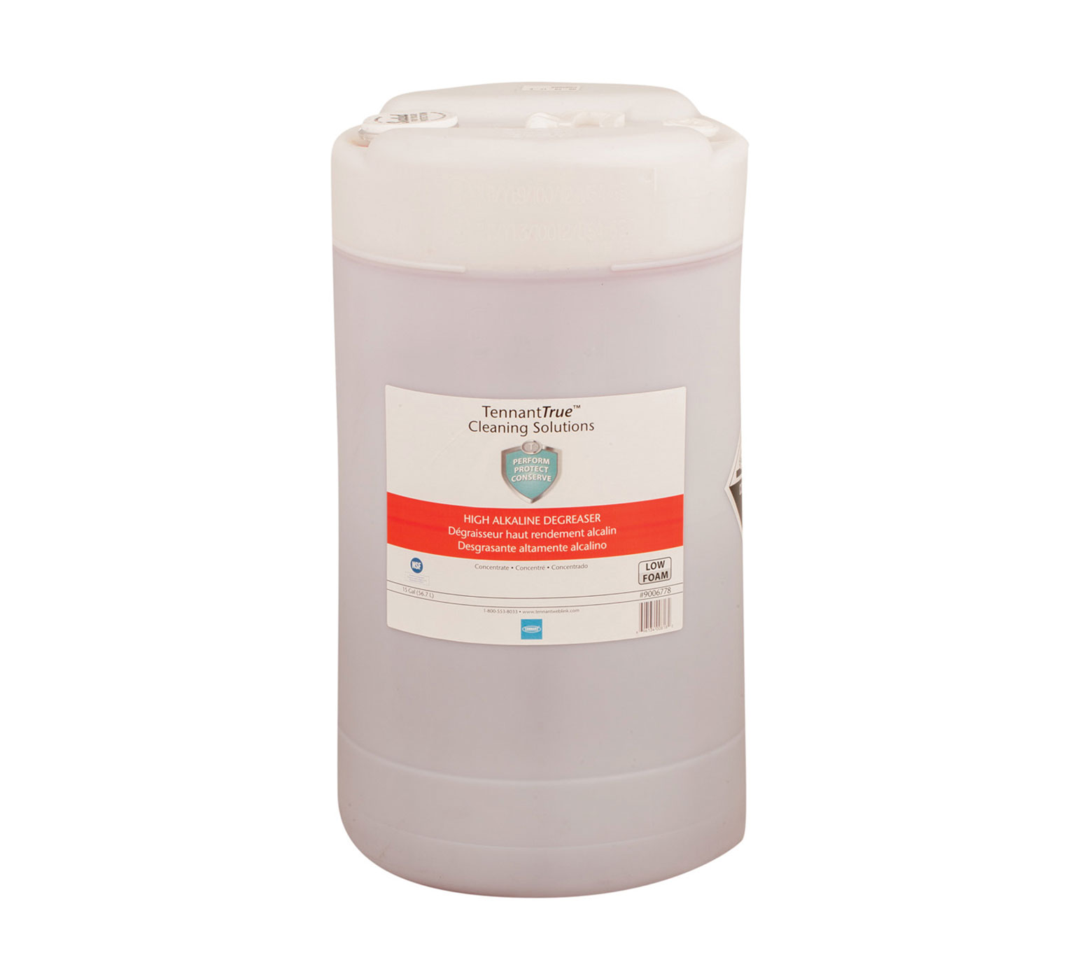 Tennant Red High Alkaline Degreaser 15 Gallon