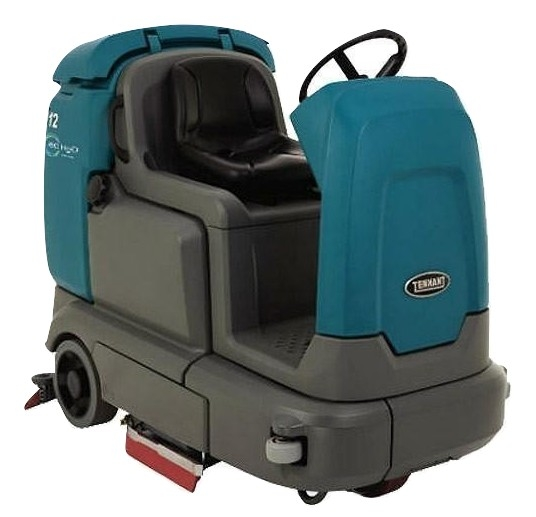 Tennant T12 Rider 32 Inch Disk Battery Operated Floor Scrubber