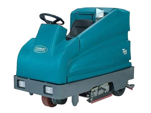 Tennant T15C 36 Inch Rider Cylindrical Floor Scrubber