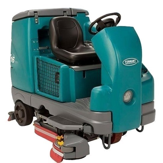 Tennant T16 Rider Cylindrical Battery Operated Floor Scrubber