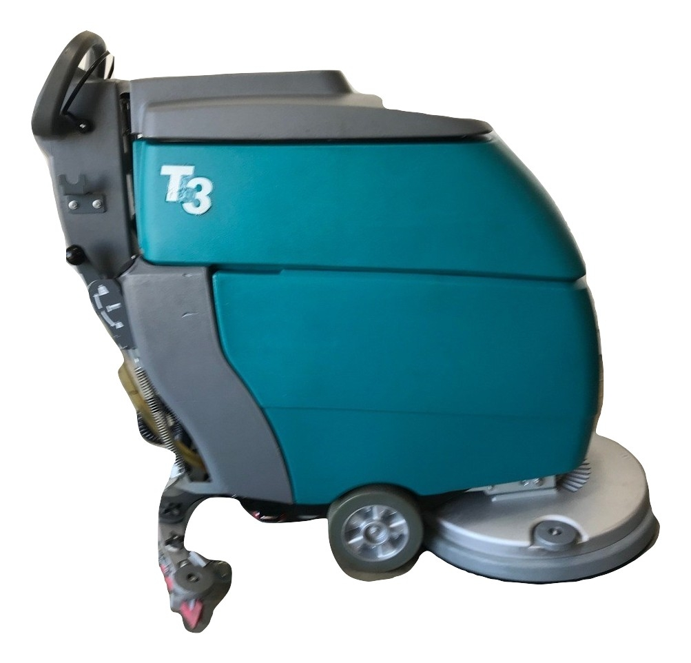 Tennant T3 Demo 20 Inch Floor Scrubber Pad Driven Shop