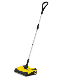 Tornado 12 Inch Battery Powered Floor Sweeper