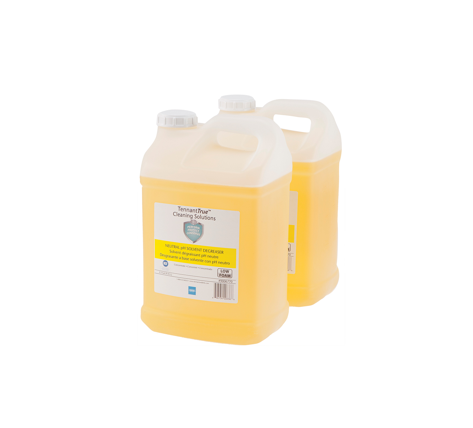 Tennant Yellow Neutral pH Solvent Degreaser 5 Gallon