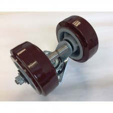 Caster Assembly, Dual Wheel Encore 24 26