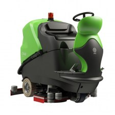 IPC EAGLE CT160 RIDE ON FLOOR SCRUBBER CLEAN TIME