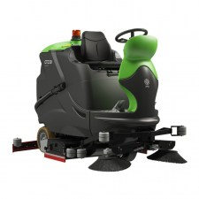 IPC EAGLE CT230 RIDE ON FLOOR SCRUBBER CLEAN TIME