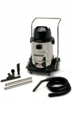 Powr-Flite 20 Gallon Wet Dry Vacuum with Stainless Steel Tank and Tools 01