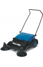 Powr-Flite 32 Inch Large Area Manaul Push Sweeper 00