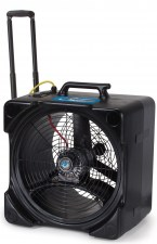 Powr-Flite F5 Axial Fan Air Mover with Handle and Wheels 01