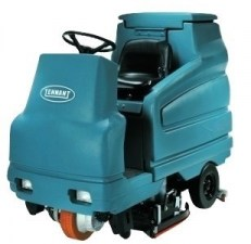 Tennant 7100 Rider Floor Scrubber Refurbished_burned
