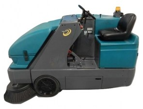 Tennant S20 Rider Floor Sweeper_burned