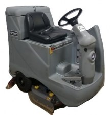 advance advenger 3210d rider floor scrubber_burned