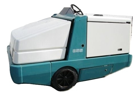 Tennant 385 Rider Floor Sweeper Gas Engine