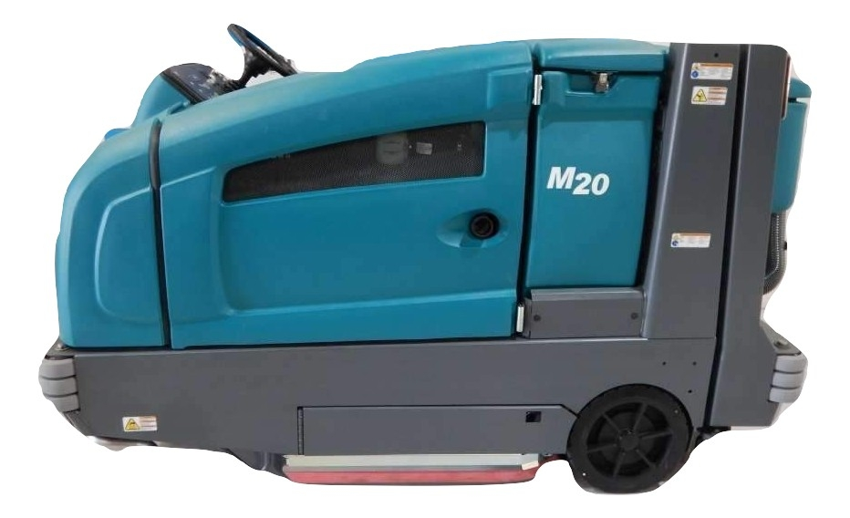 Tennant M20 Rider Floor Scrubber Sweeper Propane